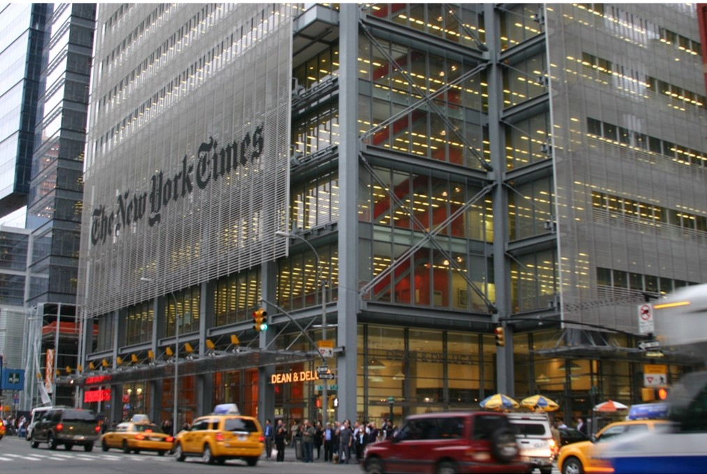 New York Times HQ